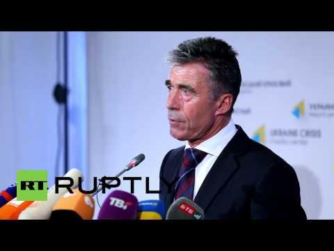 Ukraine: 'NATO to step up military cooperation with Ukraine' - Rasmussen
