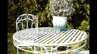 Upcycling Metal Furniture Ideas Advice Wickes Co Uk - How To Remove Paint From Metal Garden Table
