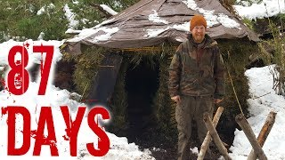 87days Alone By Zachary Fowler (87 DAYS ep. 1 Camp and The Ten Items on History's Alone season 3)