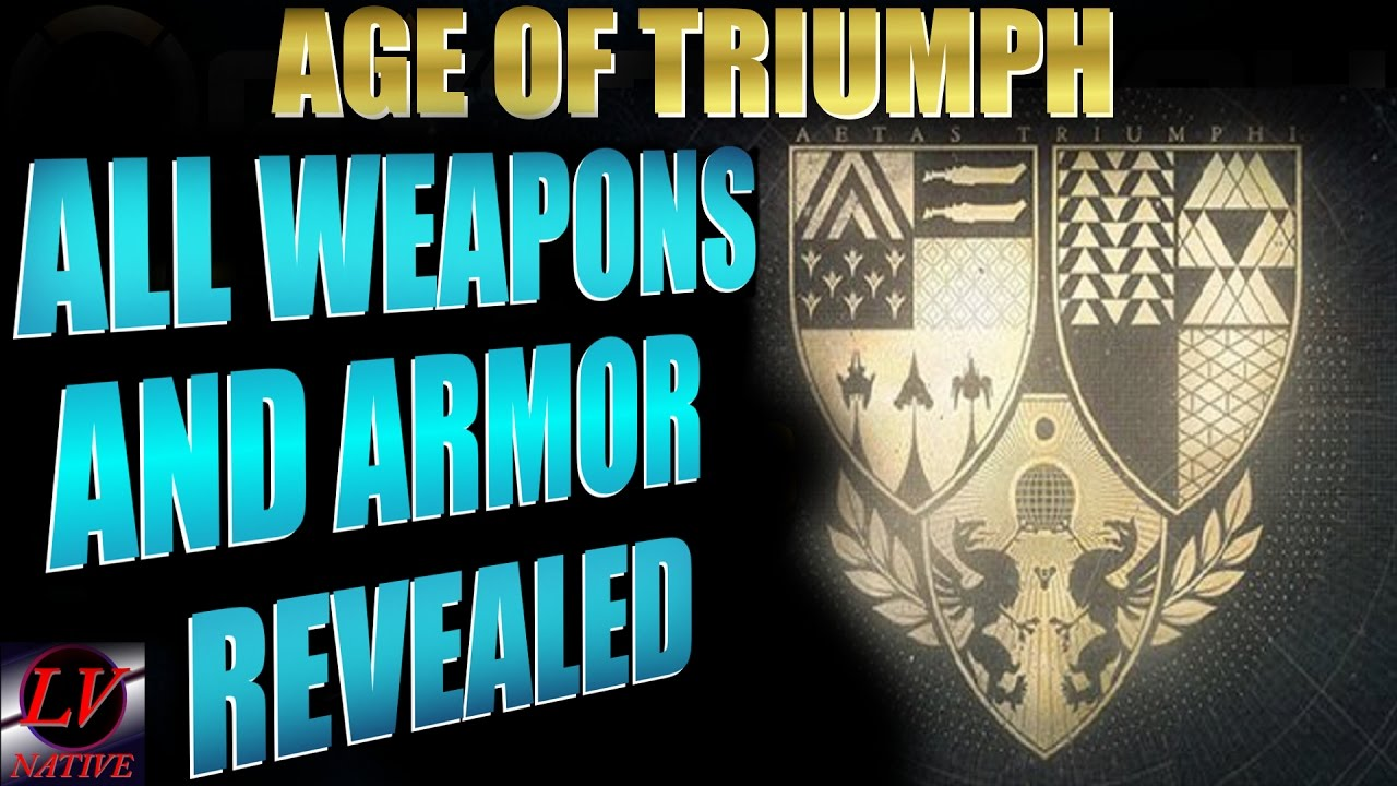 Destiny age of triumph all weapons and armor new exotic destiny age of triumph all weapons and armor new exotic primaries malvernweather Choice Image
