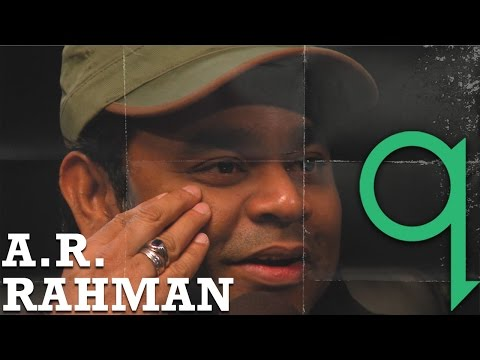 A.R. Rahman - 'for every son the father is a hero'