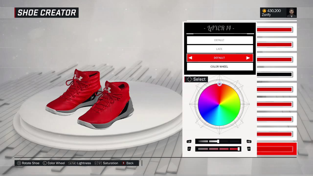 dc3c3c24a682 NBA 2K17 Shoe Creator - Under Armour Curry 3