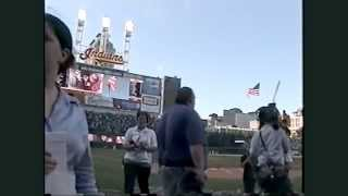 Michael Fries, Tenor Cleveland Indians National Anthem at Jacobs Field