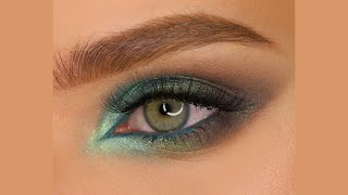 Яркий цветной вечерний макияж с пигментами от Тамми Танука Играющая с волнами Смущённое дитя