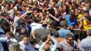 Vídeo amador mostra recepção do presidente Bolsonaro em Parnaíba