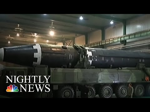 North Korea Still Secretly Producing Missiles | NBC Nightly News