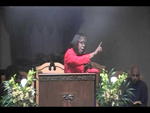 Minister Judi Brown   Pretty Feet Feb  12, 2011 Part 1