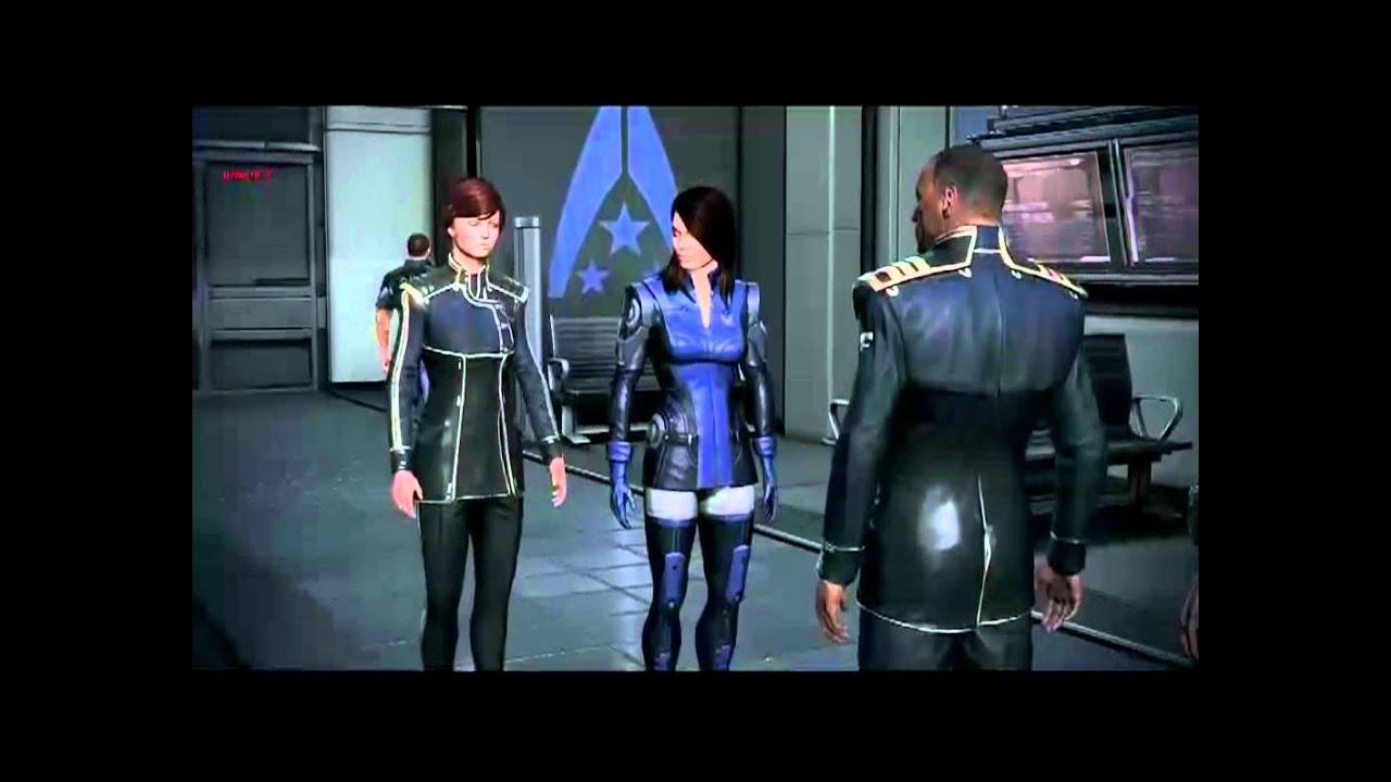 Mass Effect 3 Beta Ashley Williams Reunion No Romance -1122