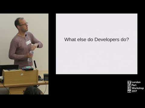 """Development: More than Writing Code?"" - Tom Hukins"