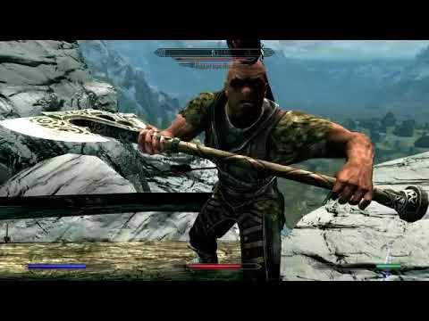 Sibi in Skyrim Ep 9: Fighting Iron-hand, Meeting The Companions
