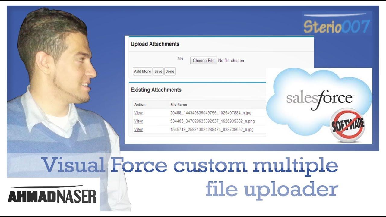 Visual Force custom multiple file uploader