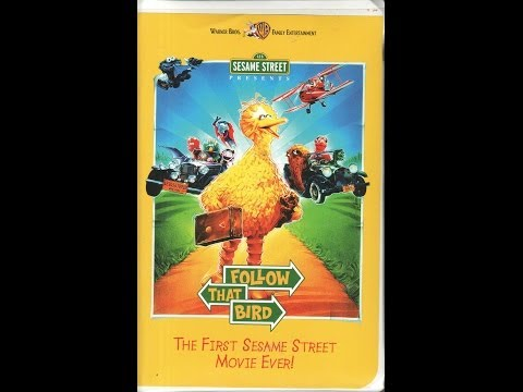 Opening To Sesame Street Presentsfollow That Bird 2002 Vhs Youtube