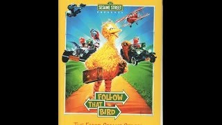 Opening To Sesame Street Presents:Follow That Bird 2002 VHS