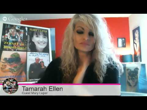 MARY LUPER in her Fight to Defeat ALS:  Tamarah's Closet
