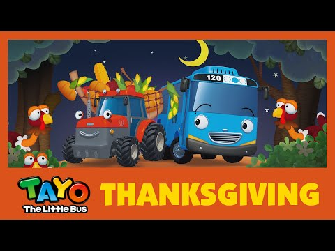 Tayo Thanksgiving Song l Thanksgiving Special Compilation l Tayo the Little Bus