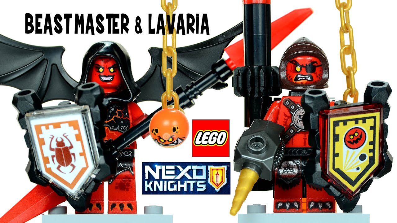 Ultimate Beast Master Minifig // Mini Figure Nexo Knights LEGO