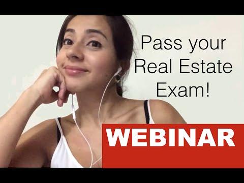 Real Estate Exam Crash Course / webinar
