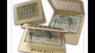 видео Пригласительные и открытки на заказ