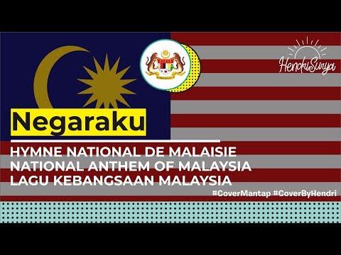 Negaraku - Malaysian National Anthem (cover by Me) + LYRICS (MY/EN/MAND/TAMIL)