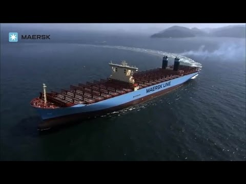 Maersk Line - Triple-E: Mærsk Mc-Kinney Møller sea trials