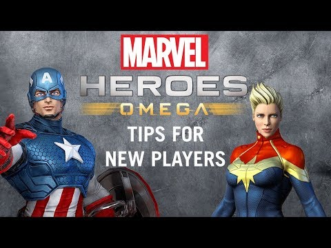 Marvel Heroes Omega - Tips for New Players!