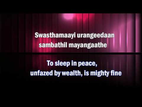 Daiva Sneham Varnichidan - Malayalam Song with Translation
