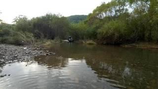 Subaru Legacy река стеклянуха Шкотовский район небольшой брод(Преодоление небольшого брода на Субару Легаси река Стеклянуха Приморский край Шкотовский район., 2016-09-27T07:30:19.000Z)