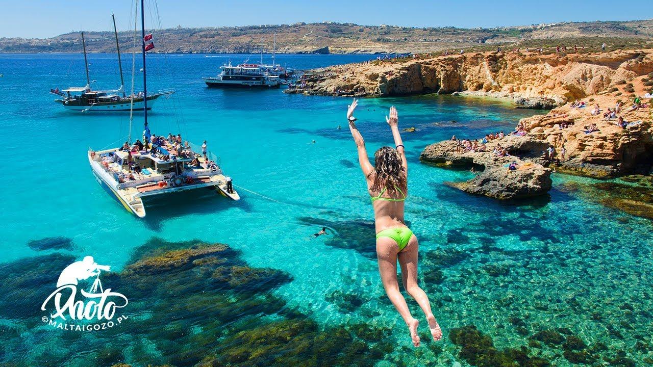 Blue Lagoon & Crystal Lagoon (Malta) - Bajkowe Laguny