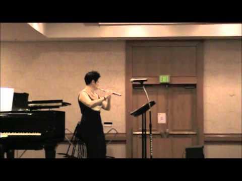 "Tereasa Payne playing Wilson's ""Celtic Partita"""