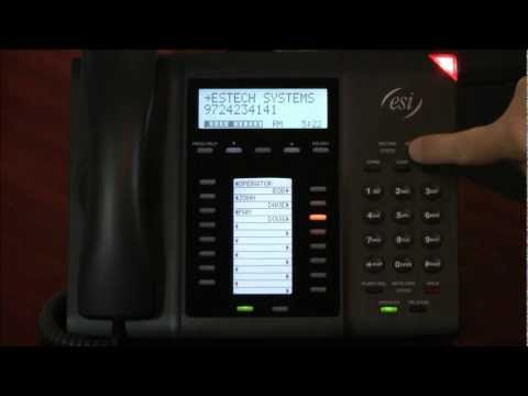 ESI Phone Systems - How to Tutorials