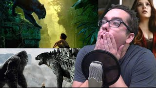 Jungle Book Movie Trailer Leaks and Godzilla Vs. King Kong is Happening