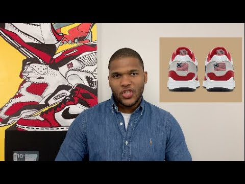 The PROBLEM With The Betsy Ross Nike Air Max 1.....