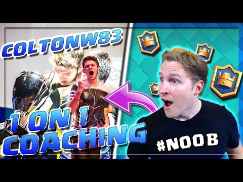 BEST WINNING STRATEGIES WITH COLTONW83! | Pro Player Tips! | Clash Royale