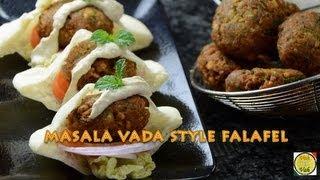Masala Vada Style Falafel - By Vahchef @ vahrehvah.com