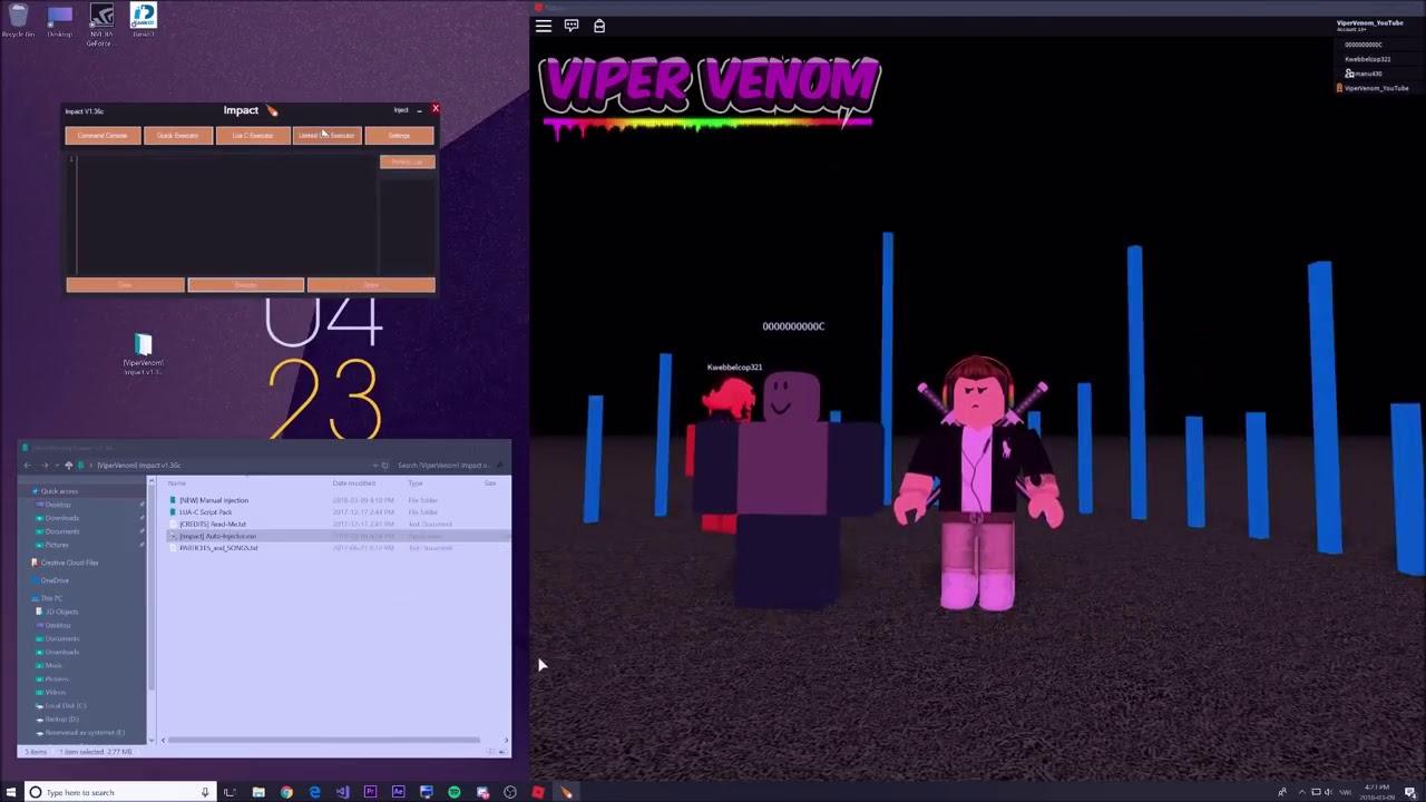 viper venom roblox hacks