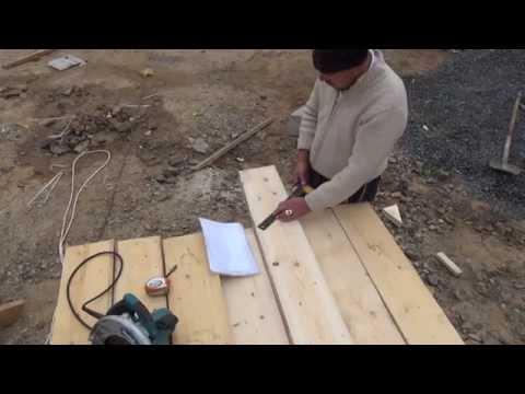 видео: Делаю стропила на мансардную крышу