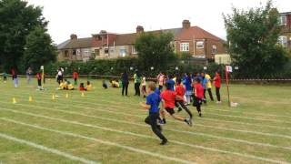 Year 3 Sports Day Sprints