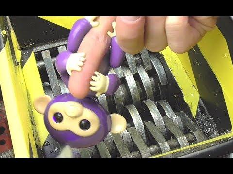 Experiment Shredding Fingerlings Surprise Baby Monkeys Toy