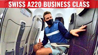 Europe's Best Domestic Business Class? Swiss Airlines Babybus!