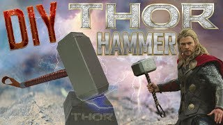 DIY Prop | How to make Thor Hammer out of cardboard recycling | Best out of Waste