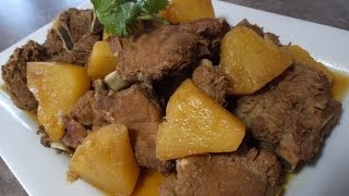 Caramelized Pork Ribs with Pineapples Recipe