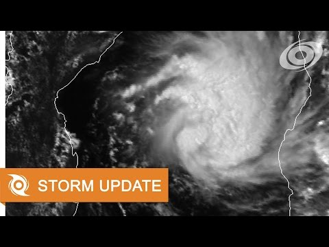 Cyclone Dineo - Update 1 (February 13, 2017)