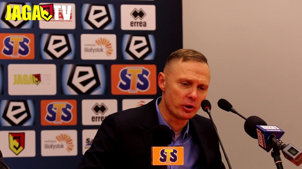 Trener Ireneusz Mamrot po meczu z Pogonią (1.12.2017)