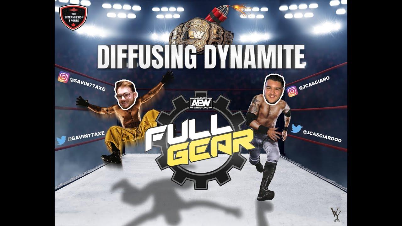 Diffusing Dynamite: Full Gear 2020