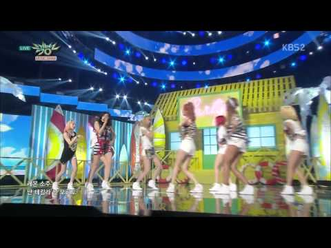 Girls' Generation 소녀시대 Comeback Stage 'PARTY' KBS MUSIC BANK 2015 07 10 1