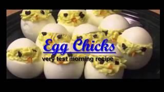how to make testy egg chicks