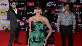 Mika Singh, Akshara Haasan & Other Celebs At Red Carpet Of Gima Awards