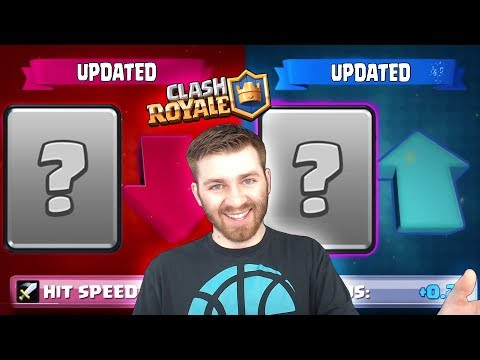 UPDATE RELEASE TIME! + NEW CARD BUFFS & NERFS! | Clash Royale NEW UPDATE BALANCE CHANGES!