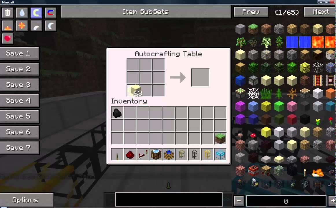 Comment Avoir Une Table De Craft Automatique - YouTube