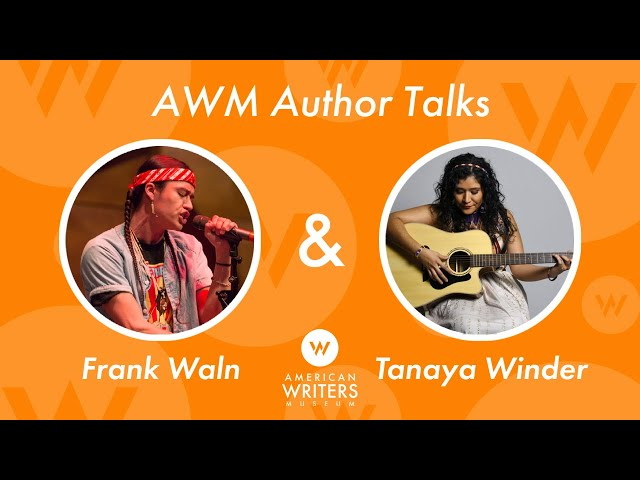Frank Waln and Tanaya Winder discuss music, poetry, songwriting and more!